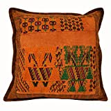 Laura Luna Textiles LL24-160 Ixil Pillow, 18-Inch by 18-Inch