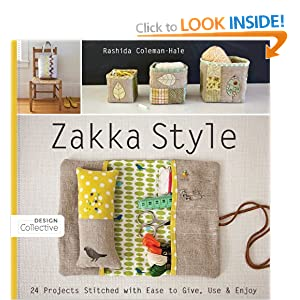 Zakka Style: 24 Projects Stitched with Ease to Give, Use & Enjoy (Design Collective)