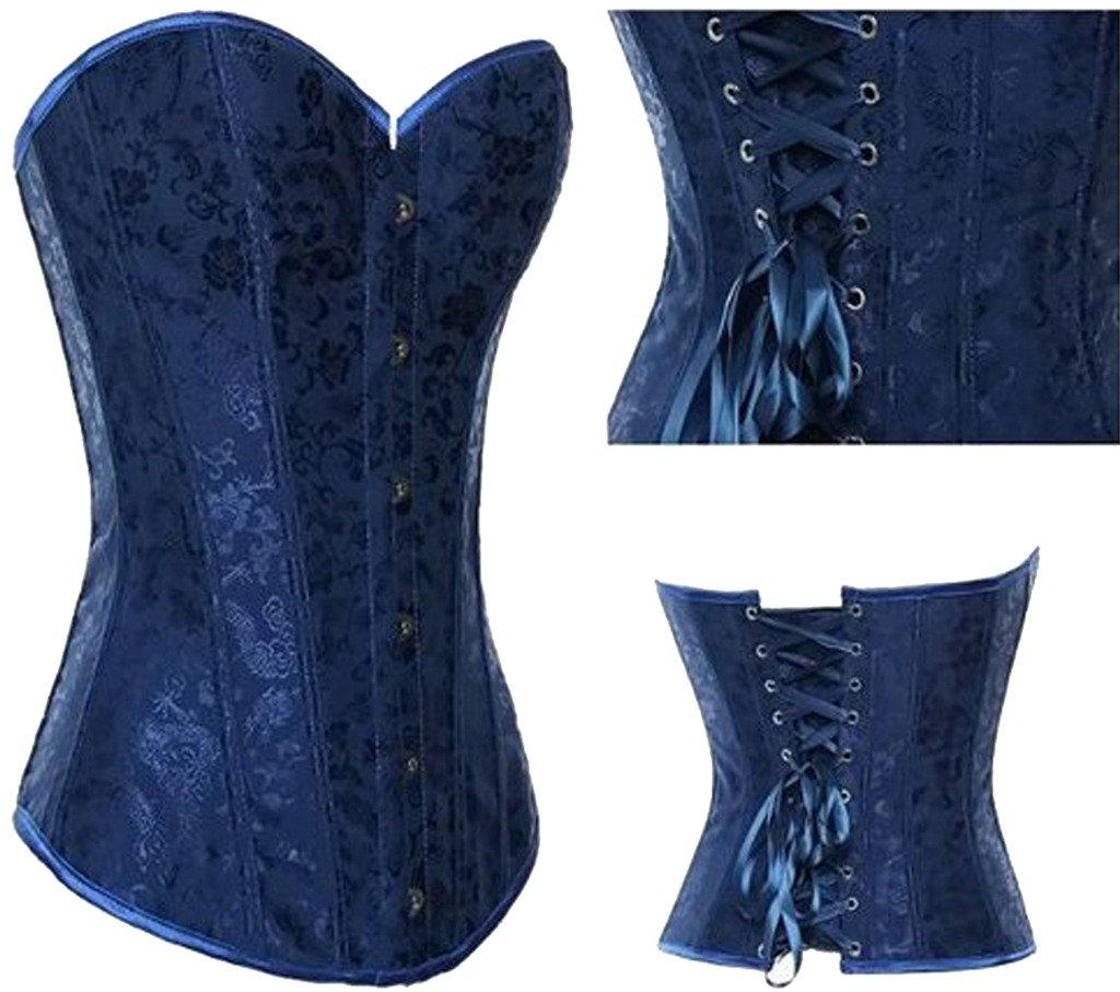 Alivila.Y Fashion Womens Sexy Tapestry Brocade Vintage Corset 1