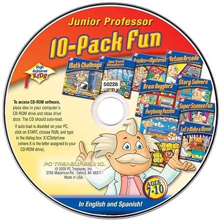 High Achievers Junior Professor 10 pack