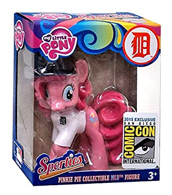 "My Little Pony MLB Sporties Pinkie Pie Detroit Tigers 3"" Collectible Figure"