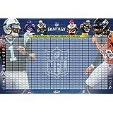 NFL Officially Licensed 2016 Fantasy Football Draft Kit, Multicolor, 45.5