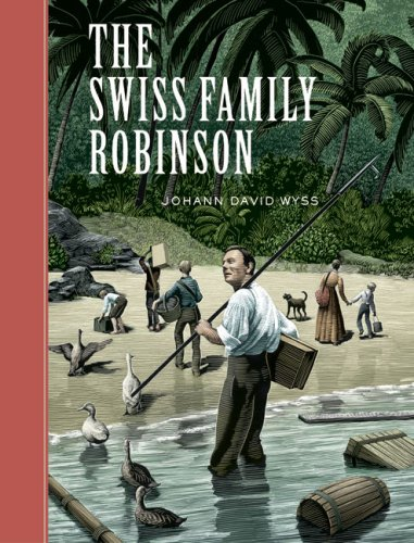Cover of The Swiss Family Robinson (Sterling Unabridged Classics)
