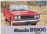 1977 Mazda B1800 Pickup Truck Brochure Denmark