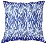 Throw Pillow Covers - 18x18 Inch Cushion Cover with Zipper - Blue & White Modern Art Throw Pillows Case for Sofa Bed Couch Ottoman Living Room Dcorations from SouvNear