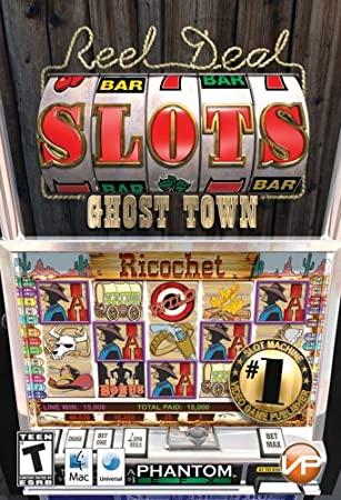 Reel Deal Slots Ghost Town Mac Stackpak