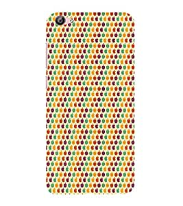 ifasho Animated Pattern design many small apple Back Case Cover for VIVO X7