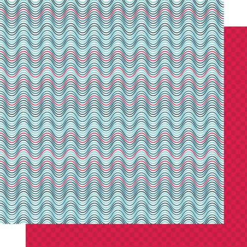 Kite Tails Designs 12 By 12-Inch Blue Sky Day Warm Breeze Paper, 25-Pack