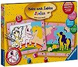 Ravensburger 27723 - Süsse Ponys - Malen nach Zahlen Junior