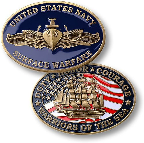 Northwest Territorial Mint Navy Surface Warfare - Officer Coin