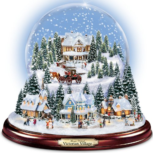 Wonderful Water Globes And Breathtaking Musical SnowGlobes