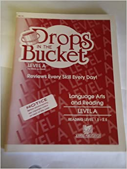 drops in the bucket reading level b pdf