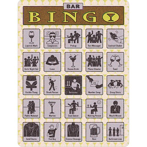 Best Buy! Bar Bingo by Knock Knock