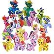 10 Pcs My Little Pony Friendship is Magic Figures Toys Spike Celestia Rainbow Dash Pony