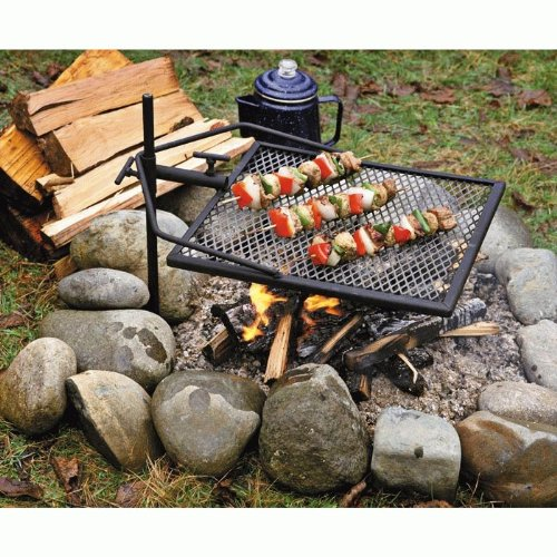 Adjust-A-Grill Outdoor Cooking Grill