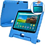 Samsung Galaxy Tab 4 10.1 case for kids, fits Galaxy Tab 3 10.1 [SHOCK PROOF KIDS TAB 10.1 CASE] COOPER DYNAMO Kidproof Child Tab 4 10.1 inch Cover for Toddlers   Kid Friendly Handle & Stand (Blue) (Color: Blue, Tamaño: Samsung Galaxy Tab 4 10.1, Tab 3 10.1)