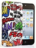 CASEiLIKE® - Graffiti - Snap-on hard case back cover for Apple 5G Touch / iPod Touch 5th Generation - 32GB 64GB - with SCREEN PROTECTOR 1pcs.