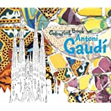 Antoni Gaudi Colouring Book
