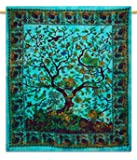 Tree Of Life Tapestry Wall Hanging Tapestry Full Size Sheets Cotton Tapestrie...