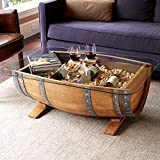 Wine Barrel Coffee Table #17450