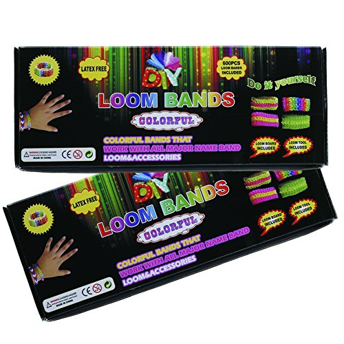 RAINSTORM Colorful DIY  Rubber Bands Making Kit Set For Children - 1