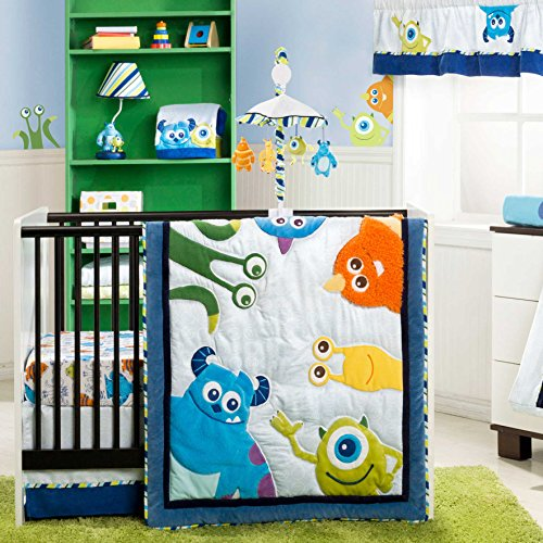 Where To Buy Monsters Inc 4 Piece Baby Crib Bedding Set By Kidsline Lonnie Coppageertd