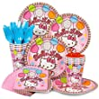 Costume-Supercenter-BB101476-Hello-Kitty-Party-Standard-Kit-Serves-8-Guests