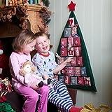 Gisela Graham : tela de la Navidad �rbol de calendario de adviento