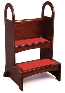 Strange Sale High Rise Step Up Espresso Childrens Step Stools Camellatalisay Diy Chair Ideas Camellatalisaycom