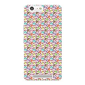 Mobile Back Cover For Gionee Marathon M5 (Printed Designer Case)