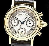 [ブレゲ] Breguet マリーン クロノグラフ 50m防水 K18YG AT オートマ レディース 腕時計 8490BA/12/964 [中古]