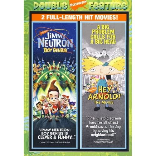 Jimmy Neutron - Boy Genius/hey Arnold! - The Movie (Double Feature)