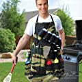 Grill Sergeant BBQ Apron Barbecue Tailgating Camouflage Accessory .#GG4346 43ETR98-Y328591