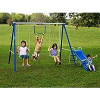 Flexible Flyer 43568T Fun-Time-Fun Metal Swing Set