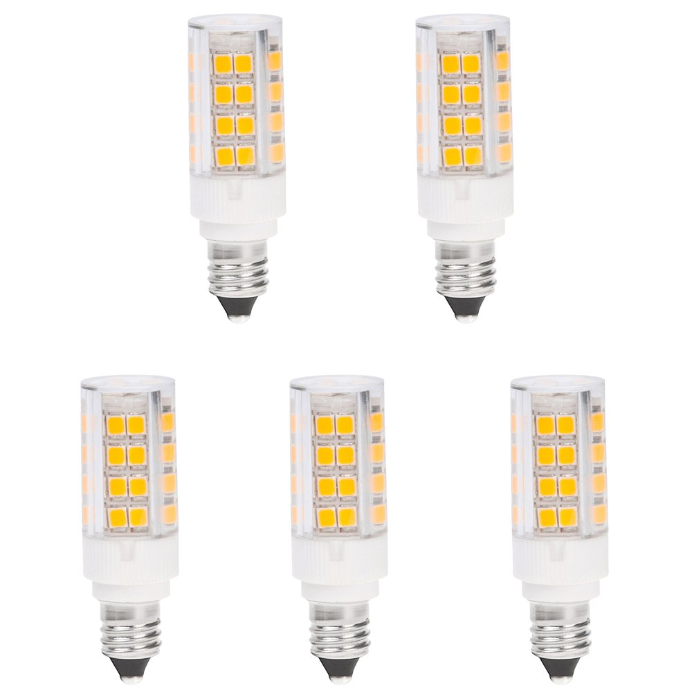 Hero led mini candelabra e11 single ended led halogen light bulb 3 5w 5 pack ebay Mini bulbs