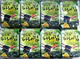Premium Roasted Seaweed Snack(Green Laver) - Pack of 8