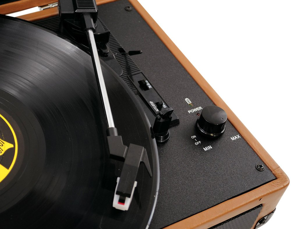 PYLE-HOME PVTT2UWD Retro Belt-Drive Turntable with USB-to-PC Connection 4
