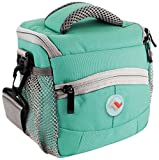 Montana Stylish & Hip Digital camera / Camcorder bag case cover & Raincoat / colour: Turquoise / compatible with (Canon Ixus / Powershot 100 is 105 IS 750 80 800 85 850 860 90 900 95 95 IS 950 96 960 970 980 980 is 990 A1000 A1100 A1110 A2000 A2100 A3000