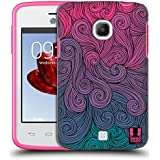 Head Case Designs Hot Pink to Teal Vivid Swirls Protective Snap-on Hard Back Case Cover for LG Google Nexus 5 D821