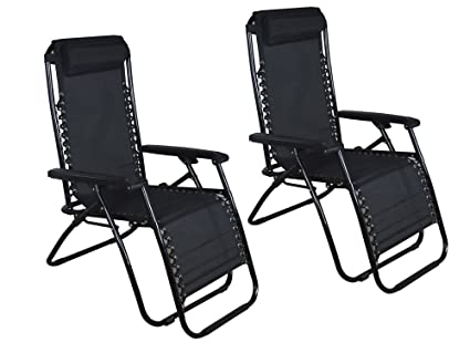 TMS® Outdoor Zero Gravity Lounge Beach Chair