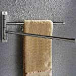 KES Bathroom Swing Arm Towel Bars 2-A...