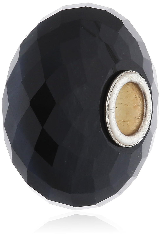 Trollbeads Damen-Bead 925 Sterling Silber Glas Saphir 80202 schenken