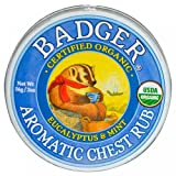 Badger - Winter Wonder Balm, Aromatic Chest Rub - 2 Oz