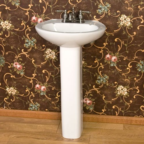Learn More About Barclay 3-201WH Hampshire 450 Pedestal Lavatory in White