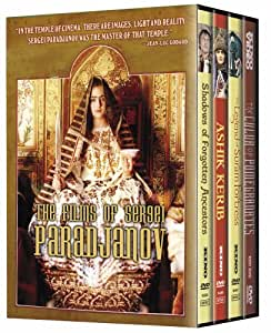 Films of Sergei Paradjanov (Shadows of Forgotten Ancestors/The Color of Pomegranates/The Legend of Suram Fortress/Ashik Kerib) (Four-Disc Edition) [Import]