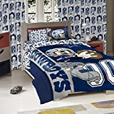 DALLAS COWBOYS NFL AND DISNEYS MICKEY MOUSE TWIN SIZED COMFORTER WITH SHAM