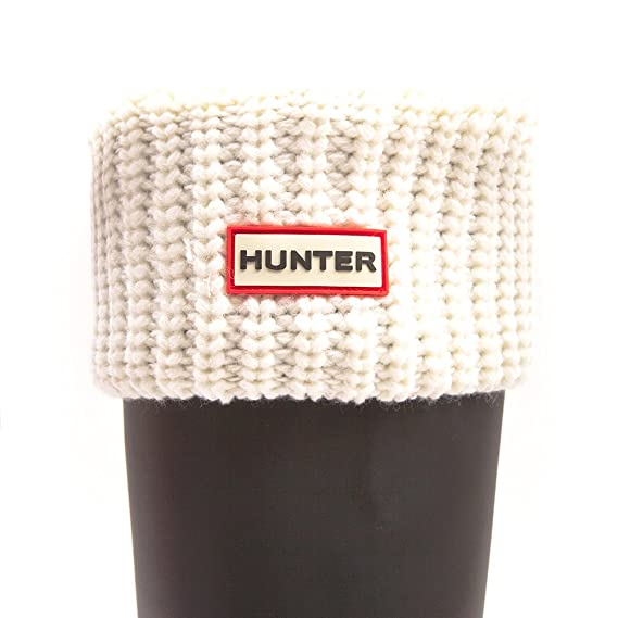 Hunter Half Cardigan Boot Socks for Tall Hunter Boots Slate Large