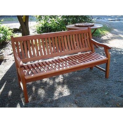 Gartenbank NEW JERSEY, 2-Sitzer aus Akazienholz von Sedex bei Gartenmöbel von Du und Dein Garten