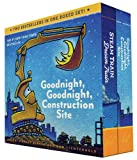 img - for Goodnight, Goodnight, Construction Site and Steam Train, Dream Train Board Books Boxed Set book / textbook / text book