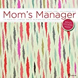 Mom's Manager Mojave 17 Month Large Grid Planning 2017 Calendar
